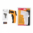 "1.2"" LCD Digital Infrared Thermometer - Orange + Black"