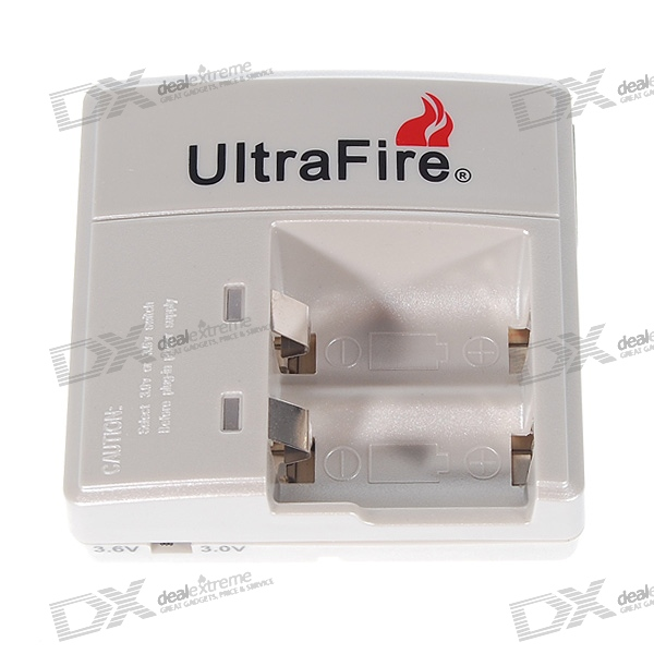 UltraFire 3.0V/3.6V CR123A Charger
