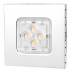 6W 3300K 300lm 4-LED Warm White Light Down Deckenleuchte (AC 85-265V)