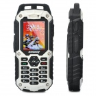 "RESWAY T99 Ultra-Rugged IP57 GSM Cell Phone w/ 2.0"" LCD, Dual SIM, Java and FM - White (512MB TF)"