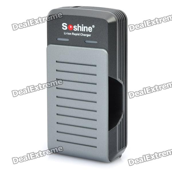 Soshine SC-S2 17650 / 17670 / 18650 Batteries Charger with Car/AC Chargers