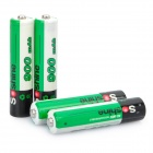 Soshine 1.2V 900mAh Rechargeable Ni-MH AAA Batteries with Battery Case (4-Piece Pack)