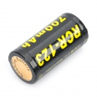 Soshine RCR-123 3.7V 700mAh Rechargeable Li-ion Batteries (Pair)