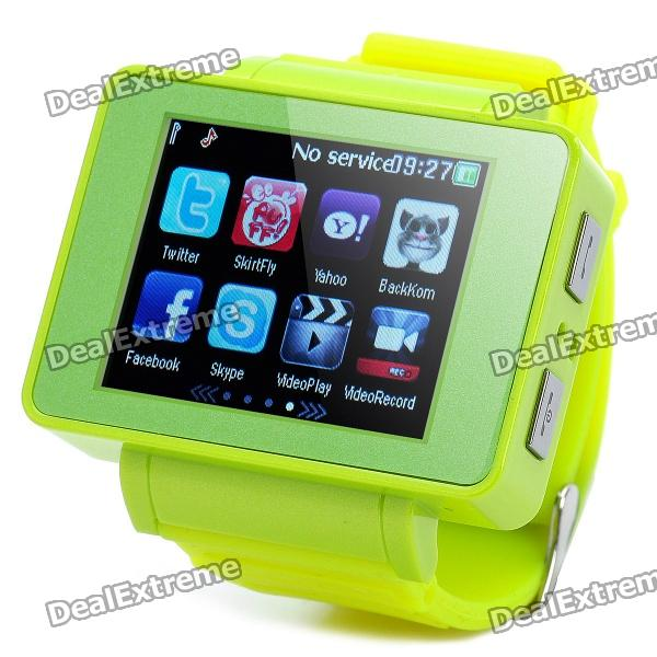 Watch Style i5 GSM Phone w/ 1.8