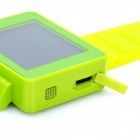 "Watch Style i5 GSM Phone w/ 1.8"" Resistive Screen, Single SIM, Quadband and FM - Green"
