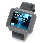 "Watch Style S9130 GSM Phone w/ 1.8"" Resistive Screen, Single SIM, Quadband and FM - Black"