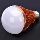 E27 10.5W 1000LM 3000~3500K 10-LED Warm White Light Bulb - Golden (85~265V)