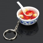Unique Chinese Delicious Snack Style Keychain - Random Style