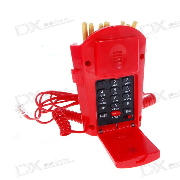 French Fries Land Line Telephone (KXT-115)