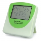 "ATH802 Cartoon Style 2.5"" LCD Hygrometer Thermometer - Green (1 x AAA)"