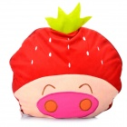 Cute Cartoon Style Folding Blanket Pillow Cushion for Car / Home - Strawberry McDull Doll (Red)