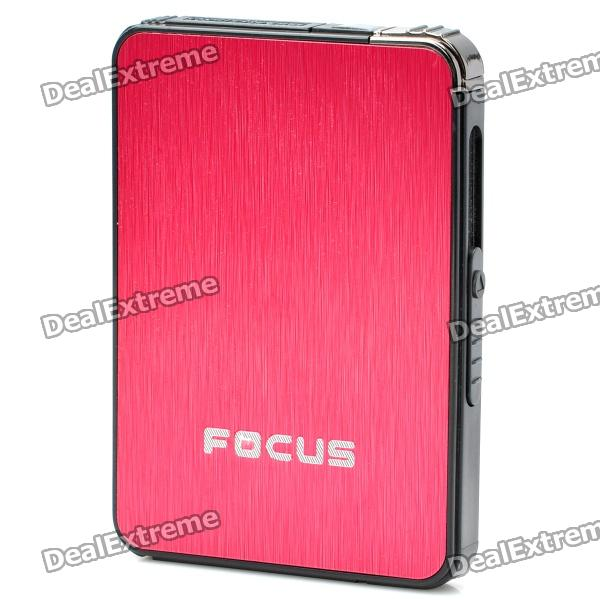 2-in-1 Cigarette Case with Butane Lighter - Random Color (Holds 5 Cigarettes)