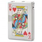2-in-1 Poker Style Butane Lighter + Money Detector - Random Pattern (1 x AG3)