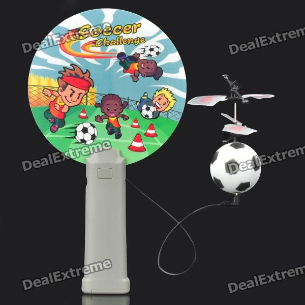 Football Style Infrared Flying Saucer Mini Magic Flyer Toy