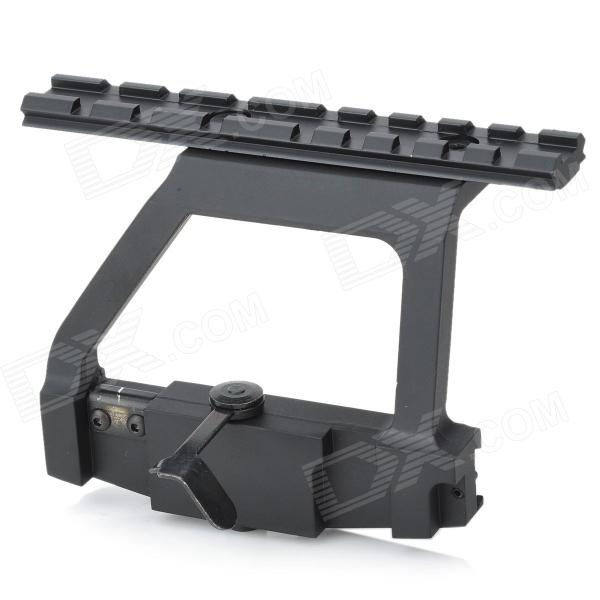 Battleaxe AK QD Quick Release laterales de aluminio Scope Mount - Negro