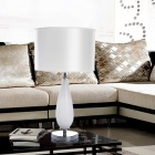 Stylish White Table Lamp (AC 110-120V)