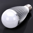 E27 7W 665LM 3200K Warm White Light 7-LED Globular Bulb (85~265V)