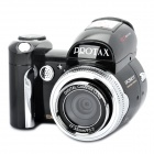 "510T 5.0MP CMOS Digital Camera with 8X Digital Zoom / USB / AV / SD - Black (2.4"" TFT LCD)"