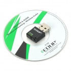 EP-N1528 Mini USB 300Mbps 802.11b/g/n Wifi/WLAN Wireless Network Adapter - Black