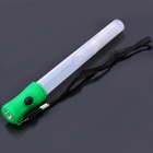 Plastic 4-Mode White + Green Light LED Flashlight w/ Strap / Whistle (3 x LR44)