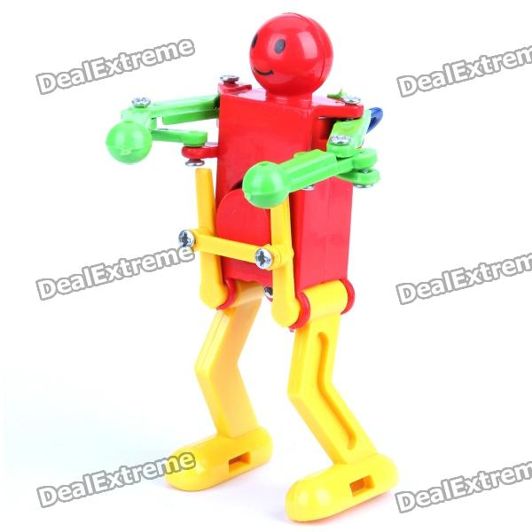 Cute Wiggling Robot Wind Up Toy - Random Color