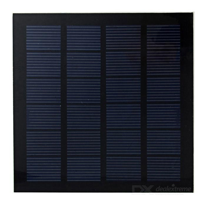 Solar Power Panel (4.2V 130~150mA)DIY Parts &amp; Components<br>Form  ColorBlackPacking List<br>