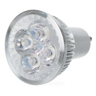 GU10 4W 400LM 3300K Warm White 4-LED Spotlight Bulb (85~265V)