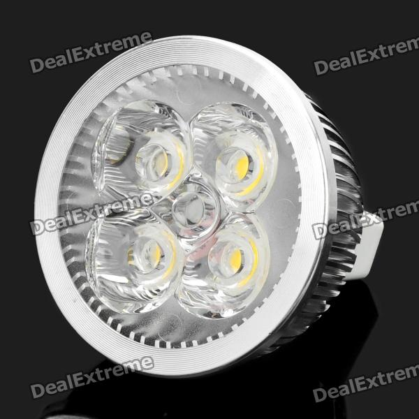 GU5.3 4W 400LM 3500K Warm White 4-LED Spotlight Bulb (DC 12V)