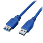 USB 3.0 A Male to A Female 5Gbps Extended Cable - Blue (100CM-Cable Length)