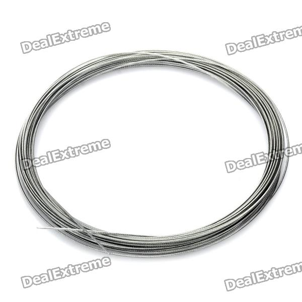 #38 High Strength Fishing Steel Wire - Silver (10m)