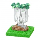 Plants vs Zombies Figure Resin Desktop Decoration Toy Doll - Grave Buster