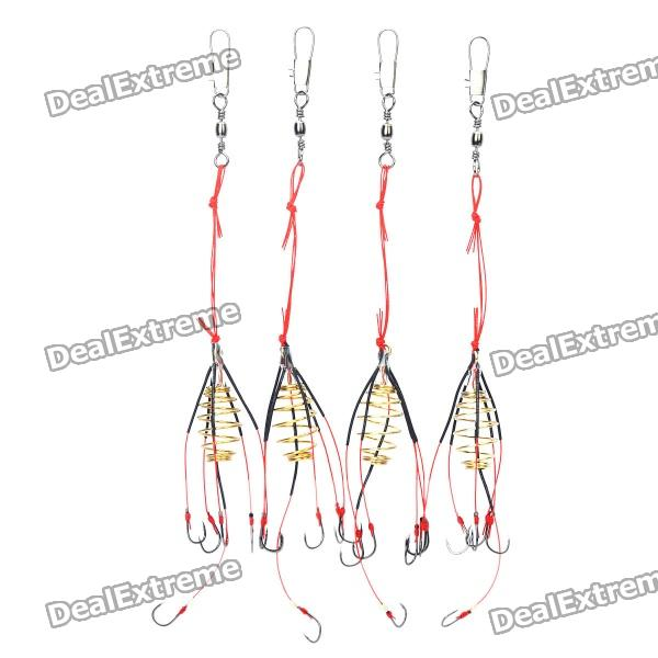 6-in-1 Anti-Winding Sharp Fishing Hooks (4-Piece Per Case) genotoxic potential in fishes
