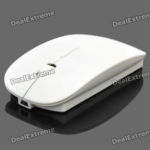 2.4GHz Wireless Optical Mouse with / Receiver / Retractable Cable / Lithium Battery