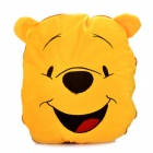 Cute Cartoon Style Folding Blanket Pillow Cushion for Car / Home - Winnie the Pooh Doll (Yellow)