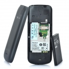 "Nokia C1-02 GSM Barphone w/1.8"" LCD, Single SIM, Dual Band and FM - Black"