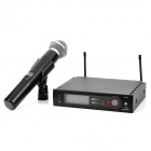 "Designer's 2.5"" LCD Wireless Microphone System"