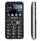"Daxian GST3000 Old Senior Bar Phone w/ 2.2"" Resistive, Dual SIM, GSM Quadband and FM - Silver"