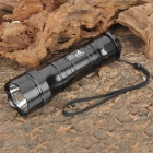 UltraFire SH-3AA Cree XR-E Q5 245LM 5-Mode Memory White LED Flashlight w/ Strap (3 x AA / 1 x 26650)