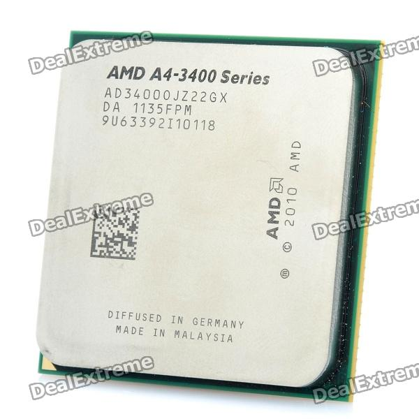 AMD A4-3400 Llano 2.7GHz Socket FM1 65W Dual-Core Desktop APU (CPU + GPU) with DirectX 11 desktop cpu 754 socket tester cpu socket analyzer dummy load fake load with led