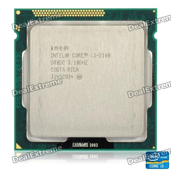 Intel Core i3-2100 Sandy Bridge 3.1GHz LGA 1155 65W Dual-Core Desktop Processor