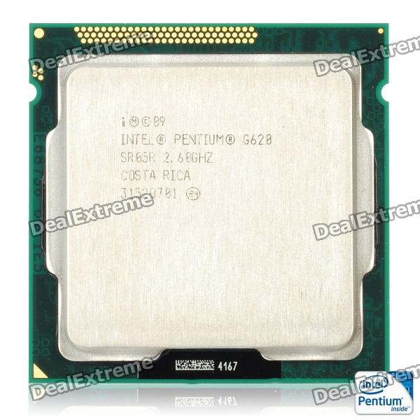 Intel Pentium G620 Sandy Bridge 2.6GHz LGA 1155 65W Dual-Core Desktop Processor Intel HD Graphics процессор intel pentium g620 cpu 1155 h61