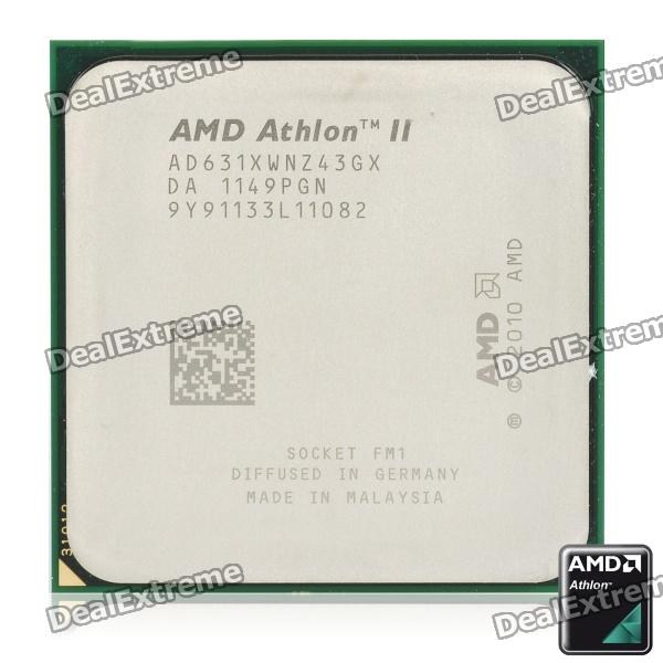 AMD Athlon II X4 631 Propus 2.6GHz Socket FM1 100W Quad-Core Desktop Processor