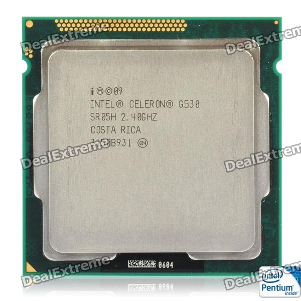 Intel Celeron G530 Sandy Bridge 2.4GHz LGA 1155 65W Dual-Core Desktop Processor Intel HD Graphics процессор intel celeron g530 cpu 2 4g lga1155