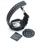 "Watch Style GD920 GSM Phone w/ 1.3"" Resistive Screen, Single SIM, Quadband and FM - Black"