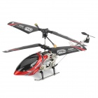 Rechargeable 3.5-CH R/C Helicopter with Gyroscope & IR Controller - Black + Red