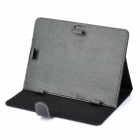 "Protective PU Leather Case for 8"" Tablet PC - Black"