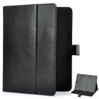 "Protective PU Leather Case for 9.1"" Tablet PC - Black"