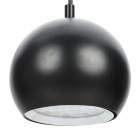 Modern 12W 1180LM Warm White Light 12-LED Pendant Lamp - Black (AC 85~265V)