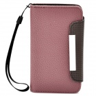 KALAIDENG Protective PU Leather Flip-Open Case for Meizu MX - Deep Red