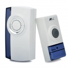 32-Melody Wireless Digital Doorbell w/ Remote Controller - White (220V / 2-Flat-Pin Plug)